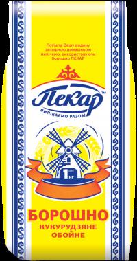 Мука кукурузная обойная, 1кг(12 единиц в упаковке)