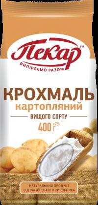 Крахмал картофельный высшего сорта,0,4кг(15 единиц в упаковке)