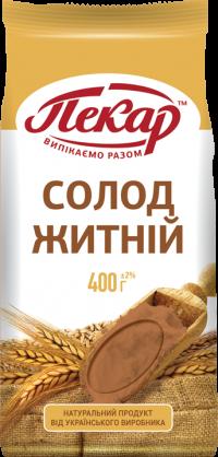 Солод ржаной,0,4кг(15 единиц в упаковке)