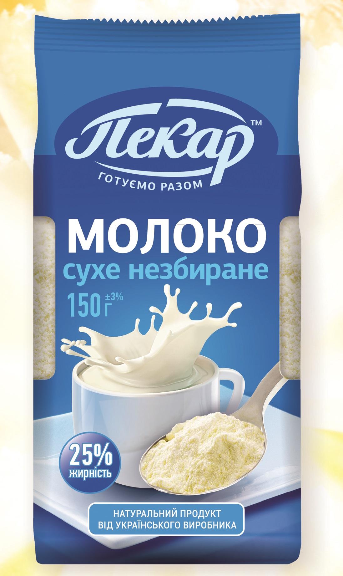 Сухе молоко рецепти