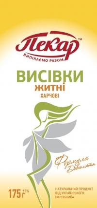 Отруби ржаные,0,1кг(18 единиц в упаковке)